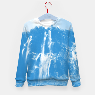 veliki slap waterfall 2 plitvice lakes national park croatia wb Kid's sweater thumbnail image