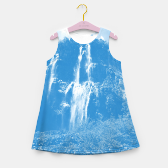 veliki slap waterfall 2 plitvice lakes national park croatia wb Girl's summer dress thumbnail image