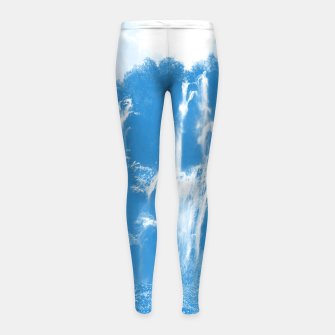 veliki slap waterfall 2 plitvice lakes national park croatia wb Girl's leggings thumbnail image