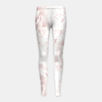 Thumbnail image of Blush Rose Peonies Dream #1 #floral #decor #art Kinder-Leggins, Live Heroes