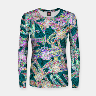 Thumbnail image of trumpet Women sweater, Live Heroes