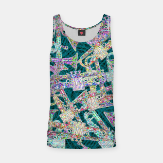 Thumbnail image of trumpet Tank Top, Live Heroes