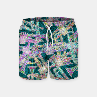 Thumbnail image of trumpet Swim Shorts, Live Heroes