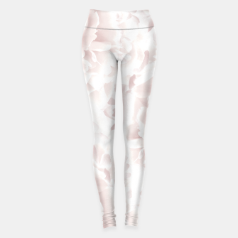 Thumbnail image of Blush Rose Peonies Dream #1 #floral #decor #art Leggings, Live Heroes