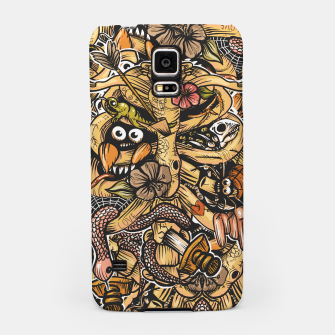 Thumbnail image of Doodle Bones flat Samsung Case, Live Heroes