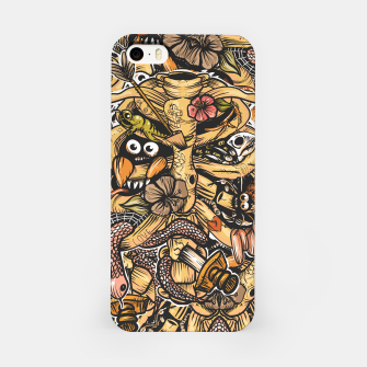 Doodle Bones flat iPhone Case thumbnail image
