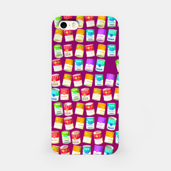 Thumbnail image of Love soup, Hate soup, empty soup iPhone Case, Live Heroes
