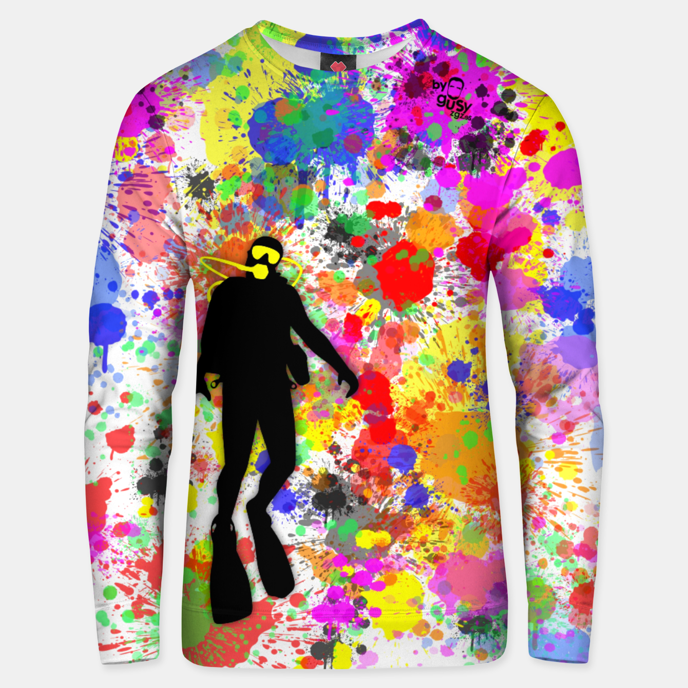 Image of SKIN DIVER COLORS ONE Sudadera unisex - Live Heroes