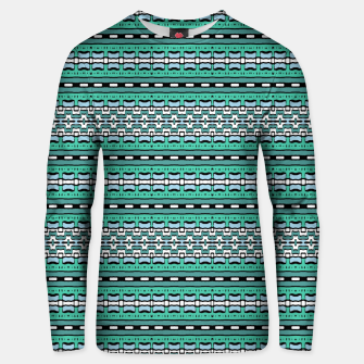 Aztec Striped Colorful Print Pattern Unisex sweater thumbnail image