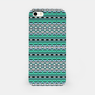 Aztec Striped Colorful Print Pattern iPhone Case thumbnail image