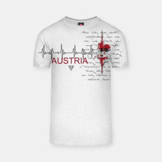 Thumbnail image of Austria T-Shirt, Live Heroes