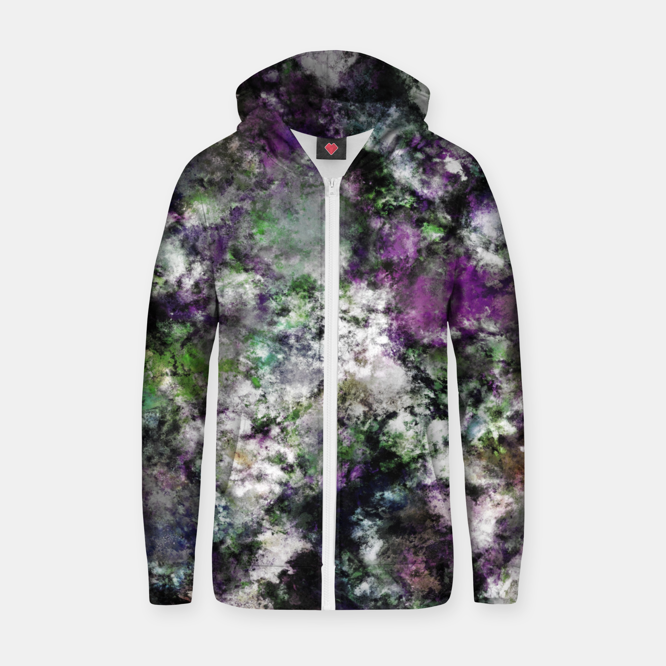 Image of Frosty frosty Zip up hoodie - Live Heroes