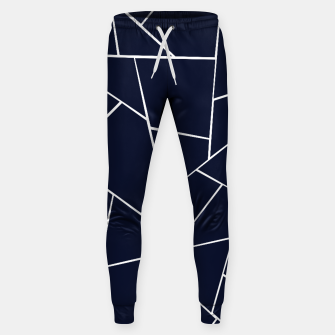 Thumbnail image of Navy Blue Geometric Glam #1 #geo #decor #art  Hosen, Live Heroes