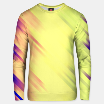 stripes wave pattern 7v1 bry Unisex sweater thumbnail image