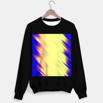 stripes wave pattern 7v1 bry Sweater regular thumbnail image