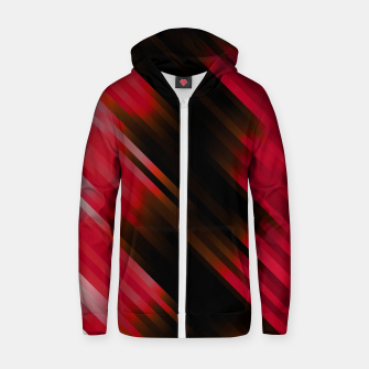 stripes wave pattern 7v1 c82i Zip up hoodie thumbnail image