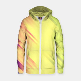 stripes wave pattern 7v1 bry Zip up hoodie thumbnail image