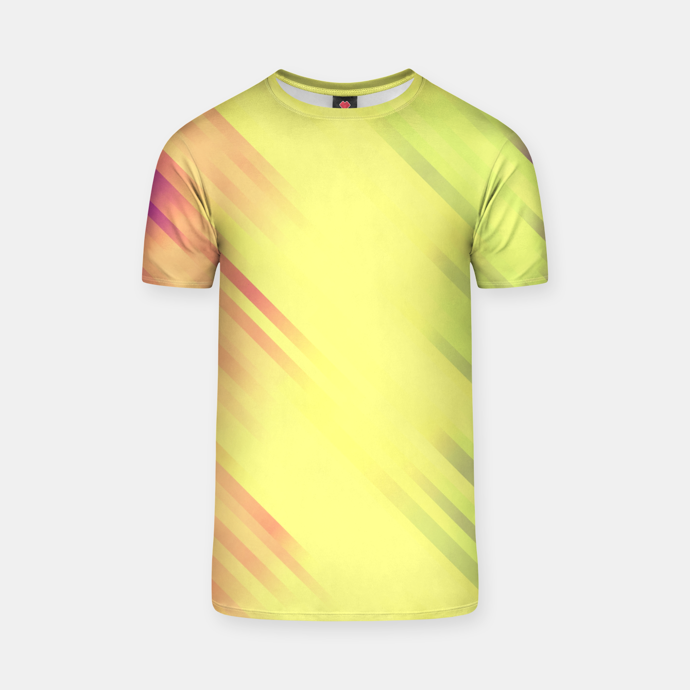 Image of stripes wave pattern 7v1 bry T-shirt - Live Heroes