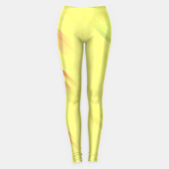 stripes wave pattern 7v1 bry Leggings thumbnail image