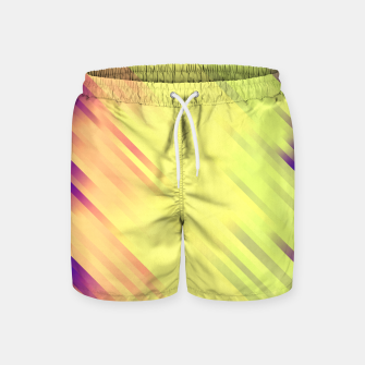 stripes wave pattern 7v1 bry Swim Shorts thumbnail image