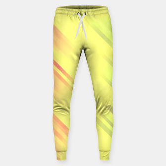 stripes wave pattern 7v1 bry Sweatpants thumbnail image