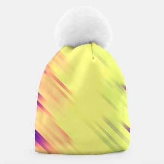 stripes wave pattern 7v1 bry Beanie thumbnail image