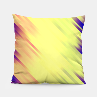 stripes wave pattern 7v1 bry Pillow thumbnail image