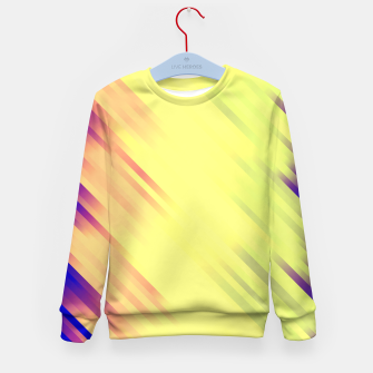stripes wave pattern 7v1 bry Kid's sweater thumbnail image