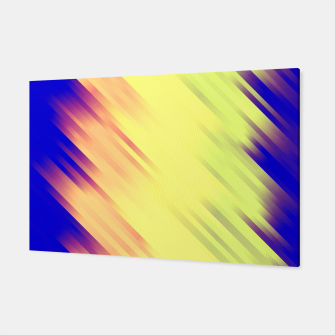stripes wave pattern 7v1 bry Canvas thumbnail image