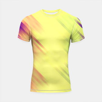 stripes wave pattern 7v1 bry Shortsleeve rashguard thumbnail image