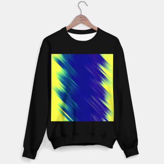 stripes wave pattern 7v1 bryi Sweater regular thumbnail image