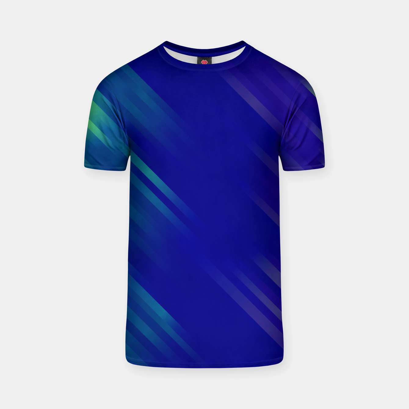 Image of stripes wave pattern 7v1 bryi T-shirt - Live Heroes