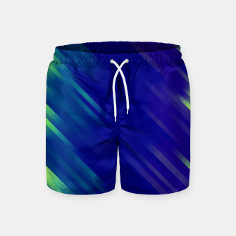 stripes wave pattern 7v1 bryi Swim Shorts thumbnail image