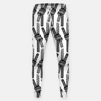 Fisherman's Knot Pattern Sweatpants thumbnail image