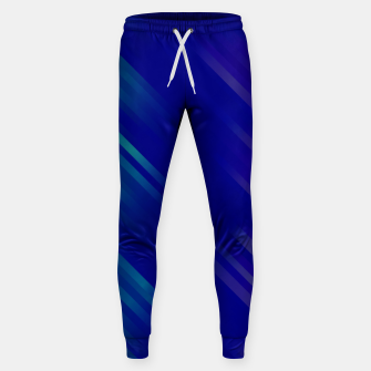 stripes wave pattern 7v1 bryi Sweatpants thumbnail image