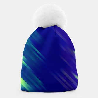 stripes wave pattern 7v1 bryi Beanie thumbnail image