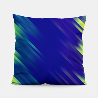 stripes wave pattern 7v1 bryi Pillow thumbnail image