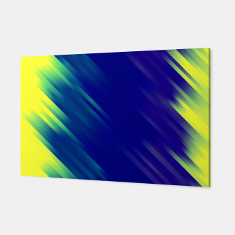 stripes wave pattern 7v1 bryi Canvas thumbnail image