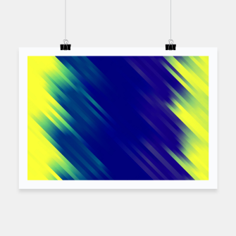 stripes wave pattern 7v1 bryi Poster thumbnail image