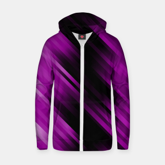 stripes wave pattern 7v1 dei Zip up hoodie thumbnail image