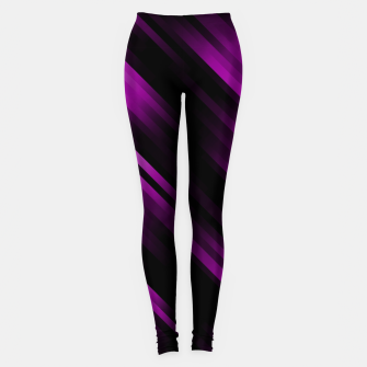 stripes wave pattern 7v1 dei Leggings thumbnail image
