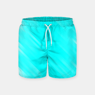 stripes wave pattern 7v1 chi Swim Shorts thumbnail image