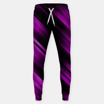 stripes wave pattern 7v1 dei Sweatpants thumbnail image