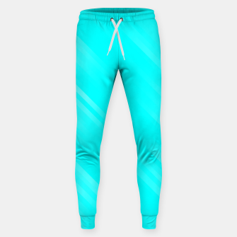 stripes wave pattern 7v1 chi Sweatpants thumbnail image