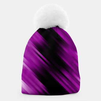 stripes wave pattern 7v1 dei Beanie thumbnail image