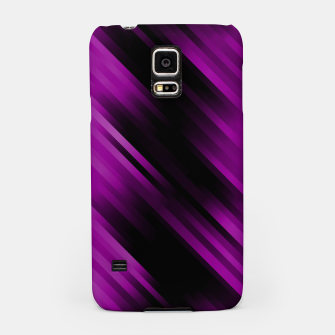stripes wave pattern 7v1 dei Samsung Case thumbnail image