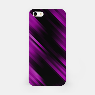 stripes wave pattern 7v1 dei iPhone Case thumbnail image