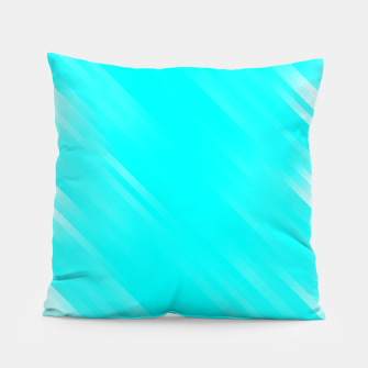 stripes wave pattern 7v1 chi Pillow thumbnail image