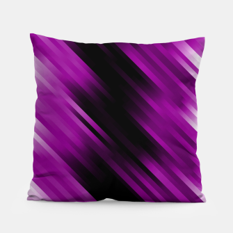 stripes wave pattern 7v1 dei Pillow thumbnail image