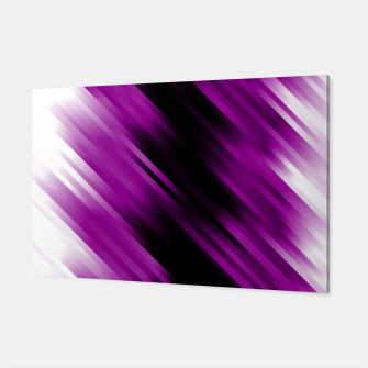 stripes wave pattern 7v1 dei Canvas thumbnail image